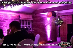 wedding up lighting kersey mill