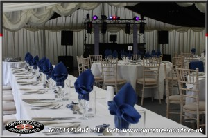Wedding disco Glemham Hall Woodbridge